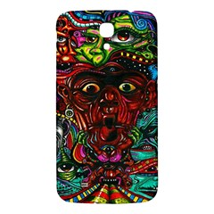 Abstract Psychedelic Face Nightmare Eyes Font Horror Fantasy Artwork Samsung Galaxy Mega I9200 Hardshell Back Case