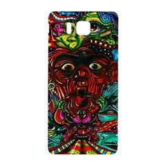 Abstract Psychedelic Face Nightmare Eyes Font Horror Fantasy Artwork Samsung Galaxy Alpha Hardshell Back Case