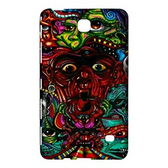 Abstract Psychedelic Face Nightmare Eyes Font Horror Fantasy Artwork Samsung Galaxy Tab 4 (8 ) Hardshell Case