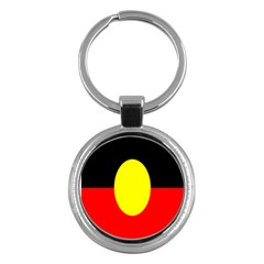 Flag Of Australian Aborigines Key Chains (round)