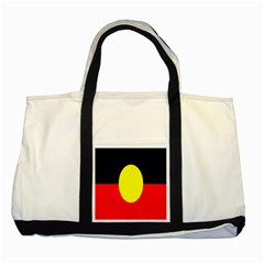 Flag Of Australian Aborigines Two Tone Tote Bag