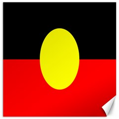 Flag Of Australian Aborigines Canvas 12  x 12