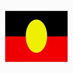 Flag Of Australian Aborigines Small Glasses Cloth (2 Side)