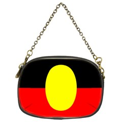 Flag Of Australian Aborigines Chain Purses (two Sides)