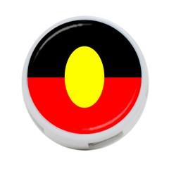 Flag Of Australian Aborigines 4-Port USB Hub (Two Sides)