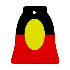 Flag Of Australian Aborigines Bell Ornament (two Sides)