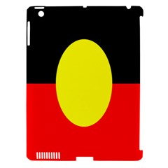 Flag Of Australian Aborigines Apple Ipad 3/4 Hardshell Case (compatible With Smart Cover)