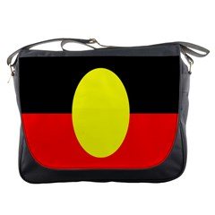 Flag Of Australian Aborigines Messenger Bags