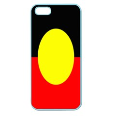 Flag Of Australian Aborigines Apple Seamless Iphone 5 Case (color)