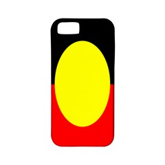 Flag Of Australian Aborigines Apple Iphone 5 Classic Hardshell Case (pc+silicone)