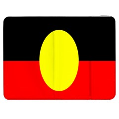 Flag Of Australian Aborigines Samsung Galaxy Tab 7  P1000 Flip Case
