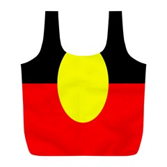 Flag Of Australian Aborigines Full Print Recycle Bags (l)