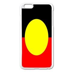 Flag Of Australian Aborigines Apple iPhone 6 Plus/6S Plus Enamel White Case