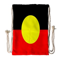 Flag Of Australian Aborigines Drawstring Bag (Large)