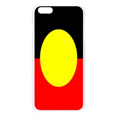 Flag Of Australian Aborigines Apple Seamless iPhone 6 Plus/6S Plus Case (Transparent)
