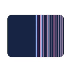Lines Double Sided Flano Blanket (mini)