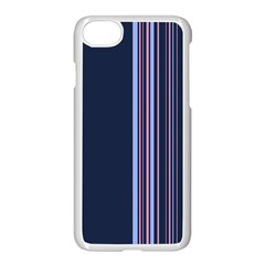Lines Apple Iphone 7 Seamless Case (white)