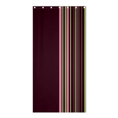 Lines Shower Curtain 36  x 72  (Stall)