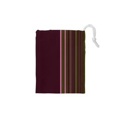 Lines Drawstring Pouches (XS)