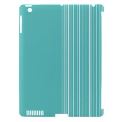 Lines Apple iPad 3/4 Hardshell Case (Compatible with Smart Cover)