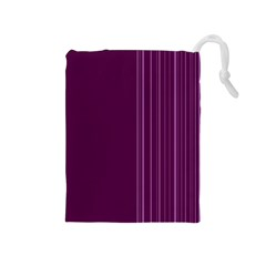 Lines Drawstring Pouches (medium)