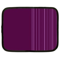 Lines Netbook Case (xl)