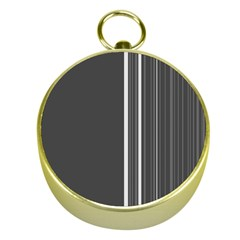 Lines Gold Compasses