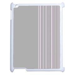Lines Apple Ipad 2 Case (white)