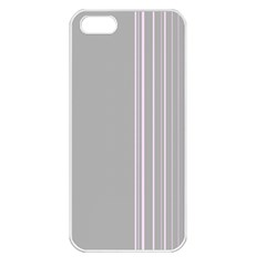 Lines Apple iPhone 5 Seamless Case (White)