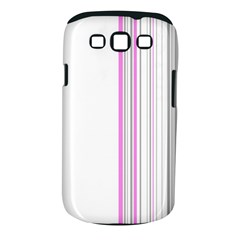 Lines Samsung Galaxy S Iii Classic Hardshell Case (pc+silicone)