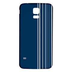 Lines Samsung Galaxy S5 Back Case (White)