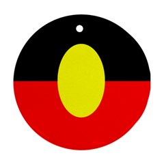 Flag Of Australian Aborigines Ornament (round)