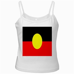 Flag Of Australian Aborigines Ladies Camisoles