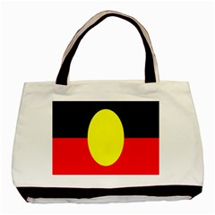 Flag Of Australian Aborigines Basic Tote Bag (two Sides)