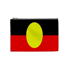 Flag Of Australian Aborigines Cosmetic Bag (medium)