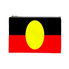 Flag Of Australian Aborigines Cosmetic Bag (Large)