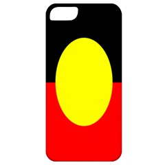 Flag Of Australian Aborigines Apple Iphone 5 Classic Hardshell Case