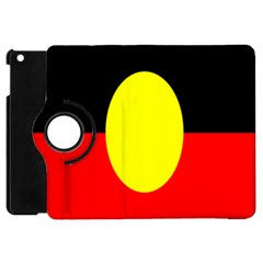 Flag Of Australian Aborigines Apple Ipad Mini Flip 360 Case