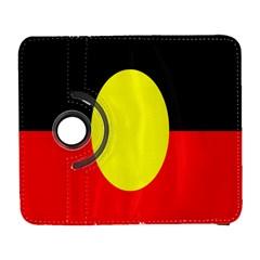 Flag Of Australian Aborigines Galaxy S3 (flip/folio)