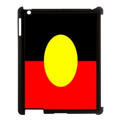 Flag Of Australian Aborigines Apple iPad 3/4 Case (Black)