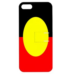 Flag Of Australian Aborigines Apple Iphone 5 Hardshell Case With Stand