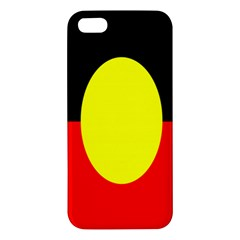 Flag Of Australian Aborigines Apple Iphone 5 Premium Hardshell Case