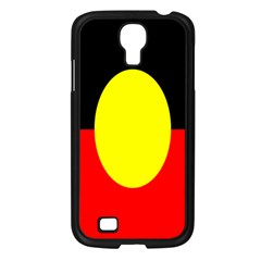 Flag Of Australian Aborigines Samsung Galaxy S4 I9500/ I9505 Case (black)
