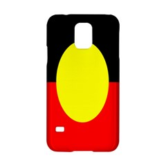 Flag Of Australian Aborigines Samsung Galaxy S5 Hardshell Case