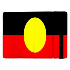 Flag Of Australian Aborigines Samsung Galaxy Tab Pro 12 2  Flip Case