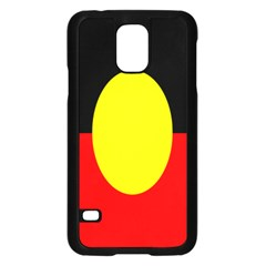 Flag Of Australian Aborigines Samsung Galaxy S5 Case (black)