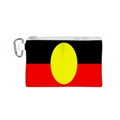 Flag Of Australian Aborigines Canvas Cosmetic Bag (S)