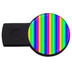 Rainbow Gradient Usb Flash Drive Round (2 Gb)