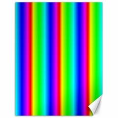 Rainbow Gradient Canvas 18  X 24