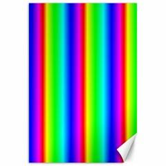 Rainbow Gradient Canvas 20  x 30